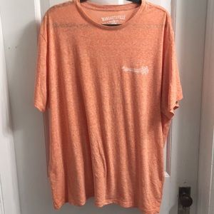 Margaritaville men's tee shirt peach heather
